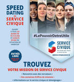 4 demi-journées de speed dating du Service Civique en octobre